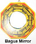 Bagua Mirror, Protect from bad neighbors, protect from bad neighbours, concave bagua mirror, bagua mirror protection cure, protect from evil neighbors, protection from oppressive neighboring buildings