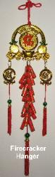 Firecracker Hanger, Feng Shui Firecracker Hanger, Chinese New Year Hanger, Chinese New Year Feng Shui Hanger, Chinese New Year Firecrackers, Chinese Talisman, Feng Shui Space clearing tool, Clear negative energy, feng shui protect space and people, feng shui hang by cash register, firecracker hanger for cash register, fire cracker hanger