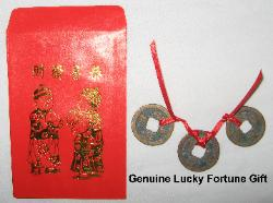 Genuine Lucky Fortune Gift, Genuine Ancient Chinese Coins, Brass Chinese Coins, Round Square Hole, Hong Bao, Ang Pao, Lai See, Chinese Birthday Gift, Chinese New Year Gift, Real Chinese Coins, Tied with Red Ribbon, Red Envelope, Chinese coins Feng Shui, Feng Shui Coins, Chinese Coins