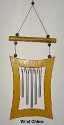 Wind Chime, Feng Shui Wind Chime, WindChime, Feng Shui WindChime, Feng Shui cure stagnant energy, Feng Shui cure rushing chi, Feng Shui Wind Chime five metal rods, feng shui protection from negative energy cure